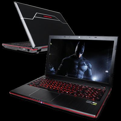 Новые игровые ноутбуки от CyberPowerPC