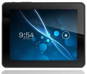 Компания ZTE показал свой новый 8 дюймовый планшет V81