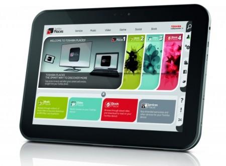 Новый планшет Toshiba AT300