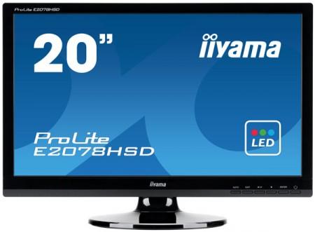 Офисный монитор iiyama E2078HSD с системой энергосбережения