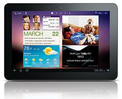 Конкуренты iPad, планшеты Samsung