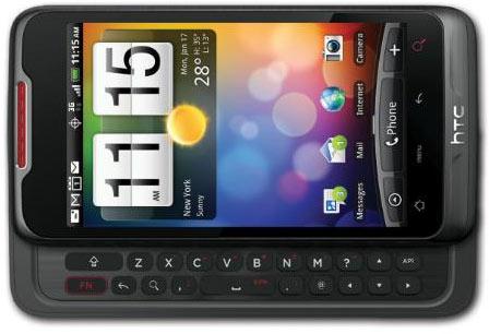 Коммуникатор HTC Merge с одной камерой