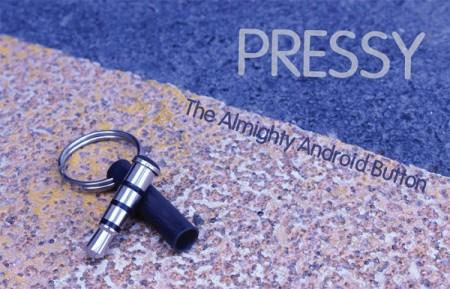 Pressy   универсальная кнопка для аудиоразъема Android