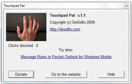 Как контролировать тачпад ноутбука во время набора текста?