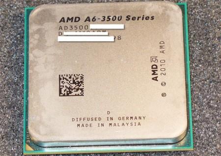 AMD Llano с тремя ядрами