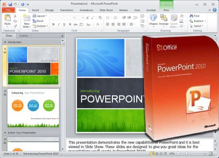 Как сделать из курсора мыши лазерный указатель в PowerPoint 2010?