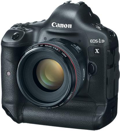 Уже в начале 2012 года Canon начнет продажи новой модели модель EOS 1D X