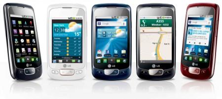 Как восстановить работу смартфона LG Optimus S?