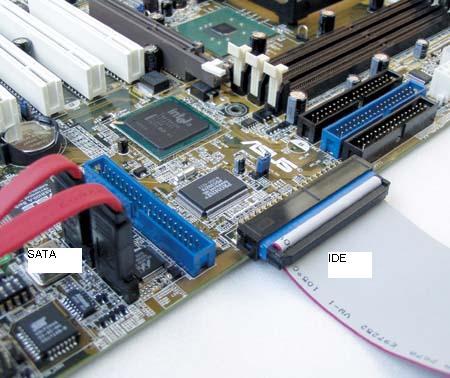 Как подключить к компьютеру жесткий диск с SATA интерфейсом?
