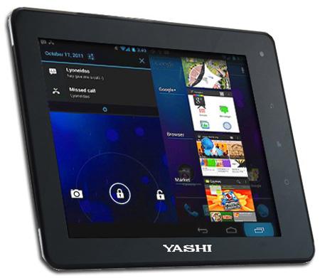 Планшет Yashi YPad A8 уже в магазинах Италии