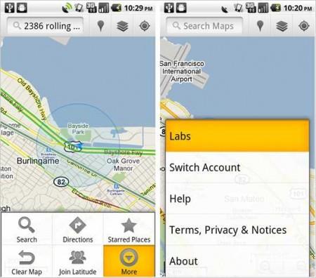 Как включить на Android смартфоне в приложении Google Maps дополнительные возможности?