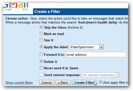 Как избавиться от спама с помощью фильтров Gmail?