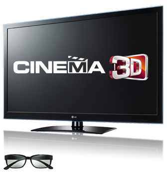 Новый Smart телевизор LG Сinema 3D