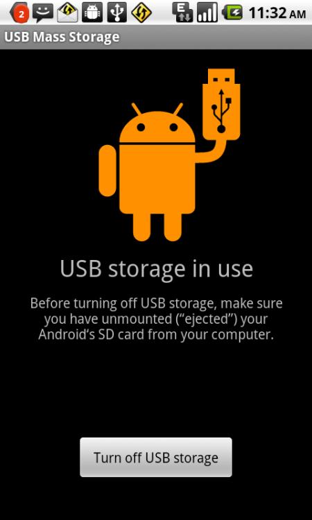 Как подключить Android смартфон в качестве внешнего хранилища данных?