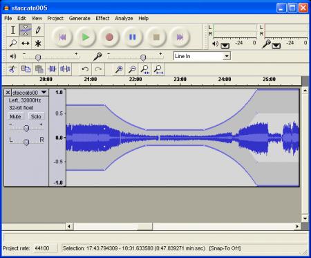 Как выделить голос на фоне шумов с помощью утилиты Audacity?