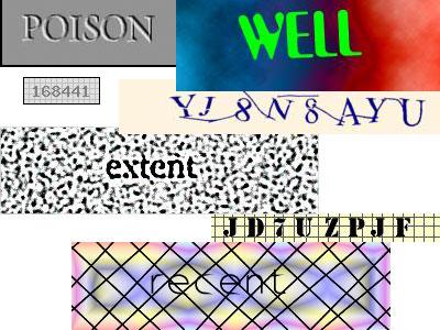 Почему не видно картинку с CAPTCHA кодом?