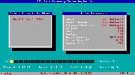 Как удалить все данные с компьютера безвозвратно?