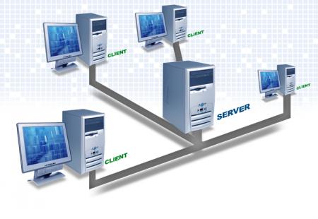 Клиент серверная технология приема и передачи данных