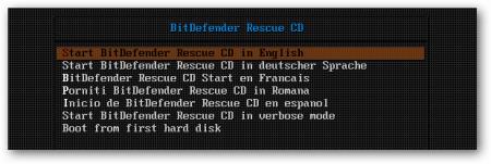 Как создать загрузочный диск BitDefender Rescue CD для лечения компьютера?