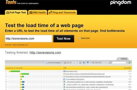 Как определить скорость загрузки страниц конкретного сайта?