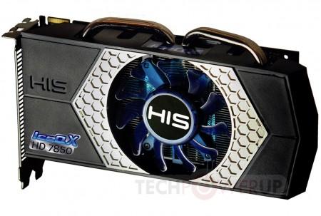 Видеокарта HIS Radeon HD 7870 с новейшей системой охлаждения
