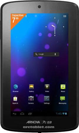 Информация о планшетах Archos Arnova третьего поколения