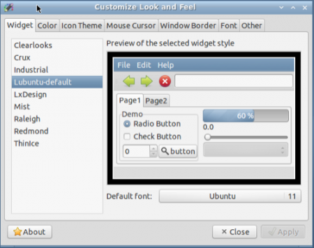 Как изменить шрифт и визуальные эффекты на рабочем столе  Ubuntu?