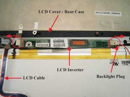 Как восстановить работу LCD дисплея в ноутбуке?