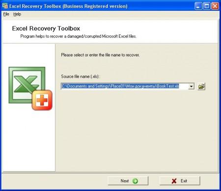 Как работает приложение Recovery Toolbox for Excel?