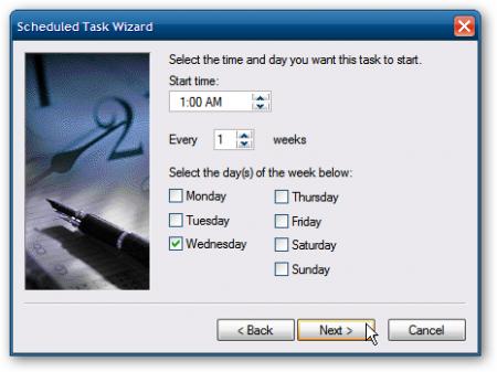 Как запланировать запуск дефрагментации в Windows XP?