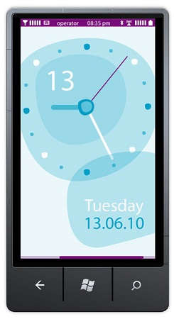 Предполагается, что компания Nokia создает интерфейс для Windows Phone