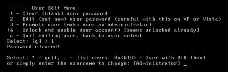 Как сбросить пароль Windows не используя инсталляционный диск?