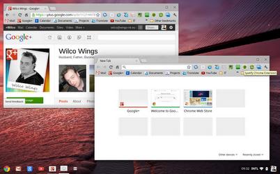 Chrome OS стала похожа на традиционные операционные системы