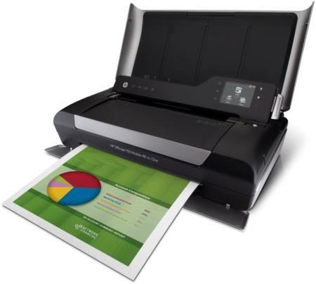 Компания HP представила мобильное устройство Officejet 150