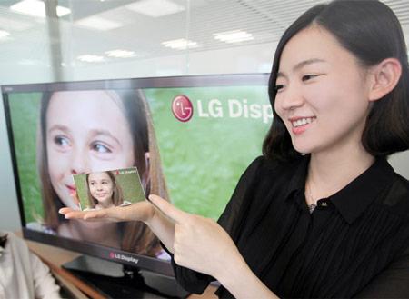 Первый в мире 5 дюймовый экран с разрешением Full HD от LG