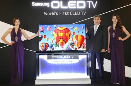 Наступление OLED телевизоров запланировано на лето!