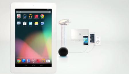 Представлен планшетный компьютер Nexus 7