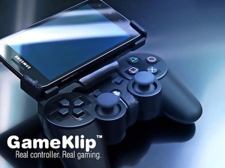 GameKlip превратит манипулятор PS3 в переносную игровую консоль