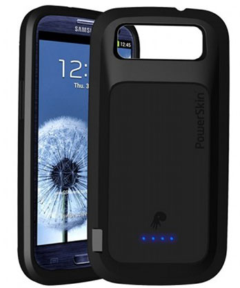PowerSkin предлагает обладателям Samsung Galaxy S III чехол с аккумулятором