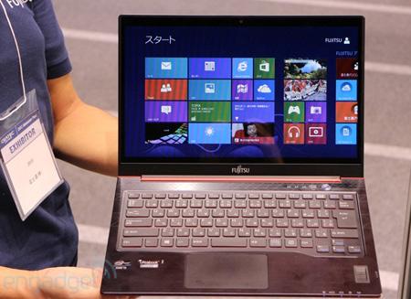 Fujitsu презентовала на CEATEC 2012 свой новый планшет и ультрабук