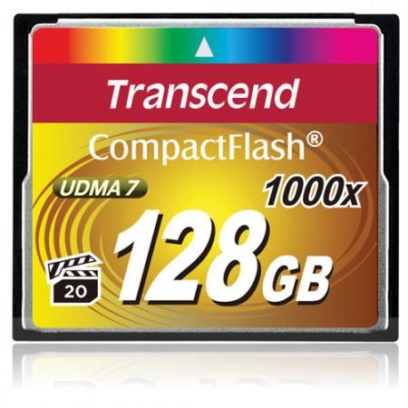 Transcend пополнила свой ассортимент новыми CompactFlash 1000x