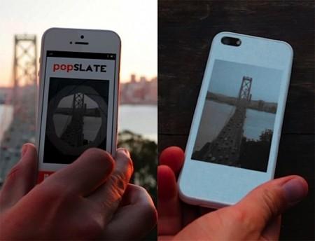 Чехол с экраном для iPhone 5