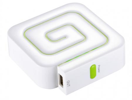 Компания Gigabyte представила мобильное зарядное устройство в виде улитки