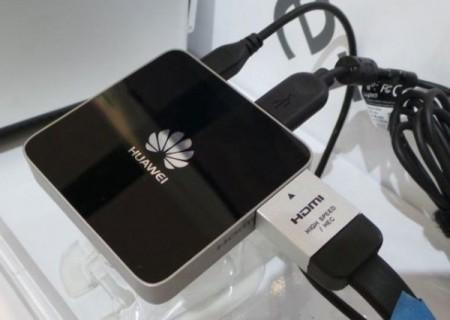 Компания Huawei показала свой медиаплеер MediaQ M310