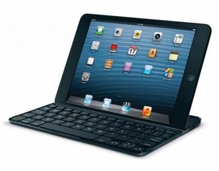 Компания Logitech показала QWERTY клавиатуру для iPad Mini