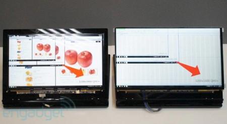 Sharp начинает выпуск экранов для ноутбуков с разрешением WQHD и WQHD+