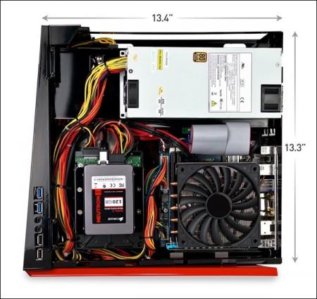 Digital Storm Bolt   компактный игровой компьютер с GeForce GTX Titan