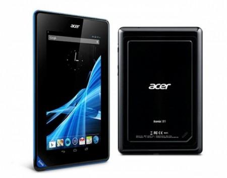 Компания Acer начала продавать планitn Iconia B1