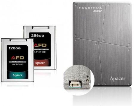 Apacer представила защищенные SSD накопители