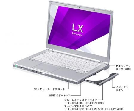 Panasonic LX   флагманский ноутбук с Core i7